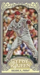 2012 Topps Gypsy Queen Roy Halladay Mini