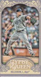2012 Topps Gypsy Queen Jeremy Hellickson