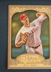 2012 Topps Gypsy Queen Cliff Lee Sp Variation