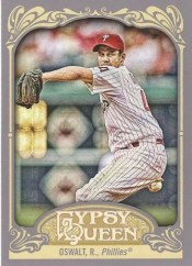 2012 Topps Gypsy Queen Roy Oswalt Sp Varitaion