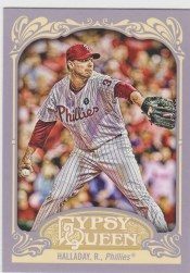 2012 Topps Gypsy Queen Roy Halladay Base Card