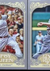 2012 Topps Gypsy Queen David Freese Base Card