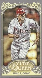 2012 Topps Gypsy Queen Hunter Pence Mini