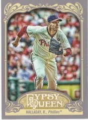 2012 Topps Gypsy Queen Roy Halladay Sp Variation