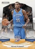 2009/10 Panini Platinum Kevin Durant Base