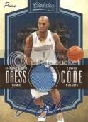 09/10 Panini Classics Dress Code Chauncey Billups Prime