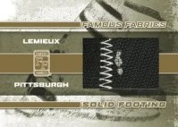 Famous Fabrics Solid Footing Mario Lemieux