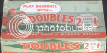 1951 Topps Baseball Box