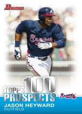 2010 Topps 100 Prospects Bowman Insert Cards