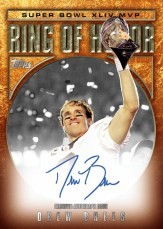 2010 Topps Drew Brees Autograph