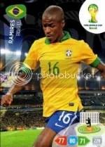 2014 Adrenalyn XL Ramires Brasil