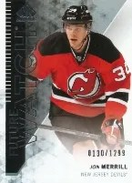 13-14 Sp Authentic Jon Merrill Future Watch