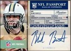 2014 Panini Prestige Blake Bortles NFL Passport