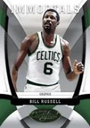 Bill Russell 09/10 Panini Certified Immortals Insert