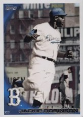 2010 Topps Jackie Robinson SP Legends Base Card