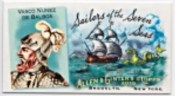 2010 Topps Allen & Ginter Sailolrs of the Seven Seas
