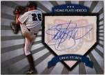 Drew Storen Home Plate Heroes Autograph