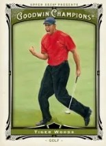 2013 Goodwin Tiger Woods Base