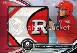 2013 Bowman Platinum Billy Hamilton