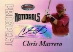 Chris Marrero Bowmans Best Autograph