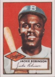Jackie Robinson 1952 Topps #312