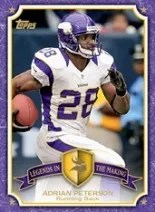 2013 Topps Adrian Peterson Insert