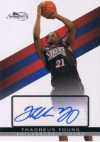 Thaddeus Young Autograph Rookie RC