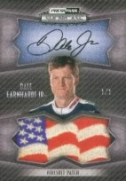 2010 Press Pass Showcase Dale Earnhardt Jr. Autograph USA Patch