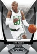 Ray Allen 2009/10 Panini Certified Base Card