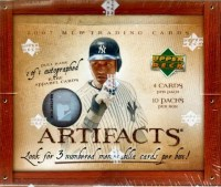 2007 UPPER DECK ARTIFACTS BASEBALL