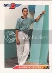 1992 Bowman Mariano Rivera RC