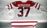 2010 Patrice Bergeron Hockey Canada Jersey