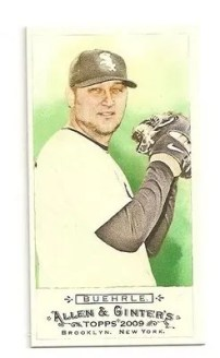 Mark Buehrle 2009 Allen & Ginter Mini
