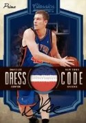 09/10 Panini Classics Dress Code David Lee Auto Prime