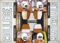 2009 Playoff National Treasures College Materials Insert