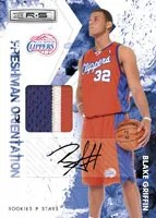 Blake Griffin 2009/10 Panini Jersey Patch Auto