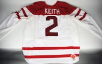 Duncan Keith 2010 Team Canada Game Used Jersey