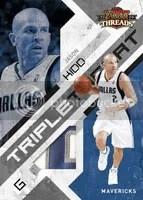 Jason Kidd 2009/10 Panini Threads Basketball Triple Threat