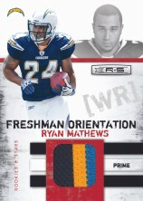 2010 Ryan Mathews Freshman Orientation Jersey