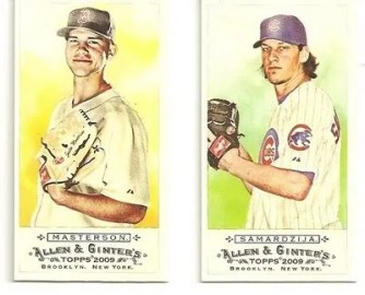 2009 Allen & Ginter Mini's