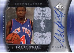 Nate Robinson Sp Authentic RC