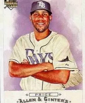 David Price 2009 Topps Allen & Ginter RC #225