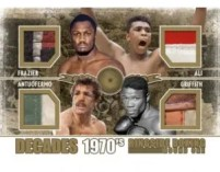 2010 Ringside Boxing Decades Ali/Frazier/Antuofermo/Griffith
