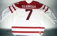 Brent Seabrook Team Canada Game Worn Jersey