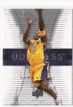 2003/04 Upper Deck UD Glass Kobe Bryant Base Card