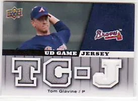 2009 Upper Deck Tom Glavine Jersey