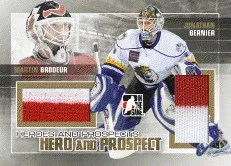 2010/11 ITG Martin Brodeur Heroes and Prospects Jersey
