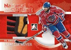 2010/11 ITG PK Subban Heroes and Prospects National Pride