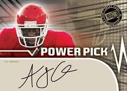 2011 Press Pass AJ Green Power Pick Autograph