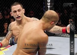 2011 Topps UFC Title Shot Frankie Edgar Base Card